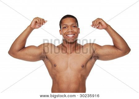 Muscular Man - Biceps