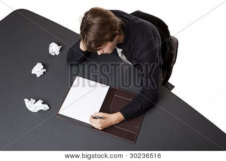 Businessman - Writers Block