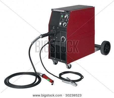 Red Welding Apparatus