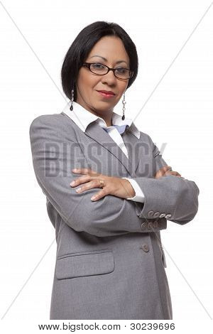 Businesswoman - Confident Latina