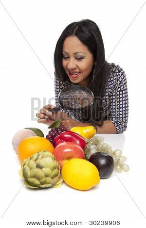 Casual Latina - Produce Selection Magnifying Glass