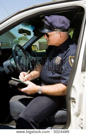 Police - Writing Citation