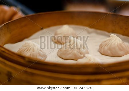 Steaming Hot Shanghai Dumpling