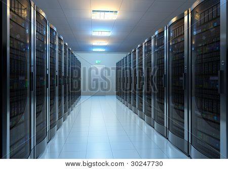 Server kamer interieur