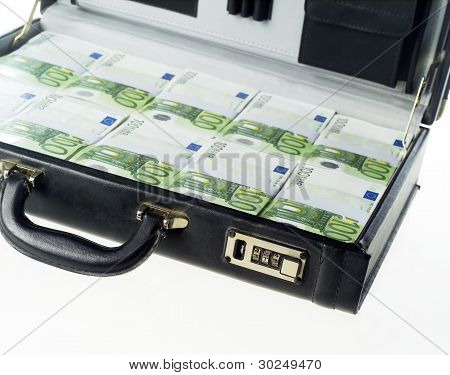 Briefcase With Money