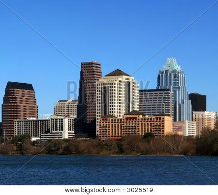 Centro urbano de Austin Texas