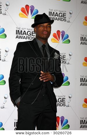 .LOS ANGELES - FEB 17:  Ne-Yo arrives at the 43rd NAACP Image Awards at the Shrine Auditorium on February 17, 2012 in Los Angeles, CA.