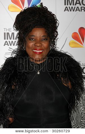 .LOS ANGELES - FEB 17:  Loretta Devine arrives at the 43rd NAACP Image Awards at the Shrine Auditorium on February 17, 2012 in Los Angeles, CA.