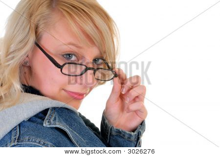 Pensive Teenager Student