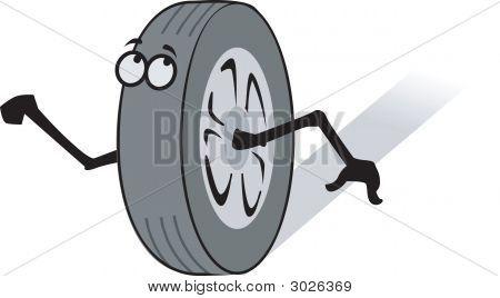 Wheel And Hand