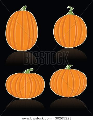 Vector Pumpkins