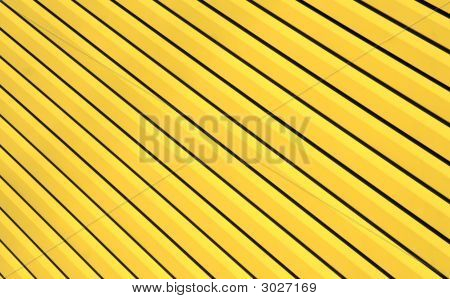 Wall With Slanting Lines