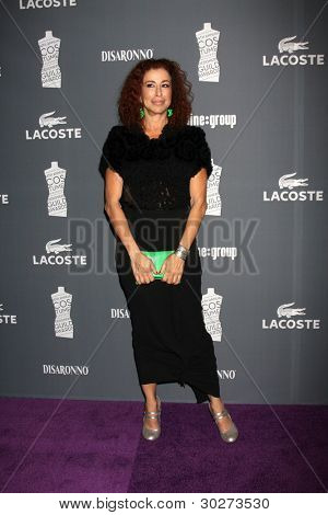 LOS ANGELES - FEB 21: Roma Maffia kommt an der 14th Annual Costume Designers Guild Awards an die