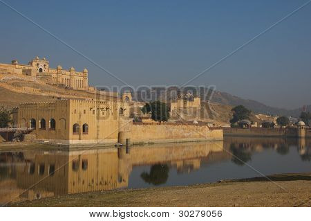 Amer Fort in Amer, India