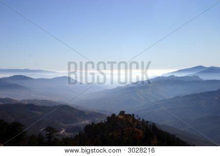 Sunset At Vikos Gorge