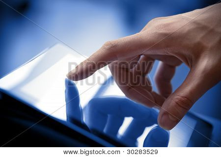 Touching Screen On Apple Ipad