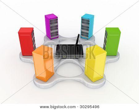 Server concept.