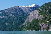 pic of punchbowl  - The forests and cliffs of Misty Fjords National Monument Wilderness near Ketchikan Alaska - JPG