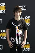 SANTA MONICA, CA - FEB 18: Zachary Gordon at the 2012 Cartoon Network Hall of Game Awards at Barker