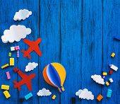 Сolourful Creative Childrens Background poster