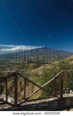 View On The Etna