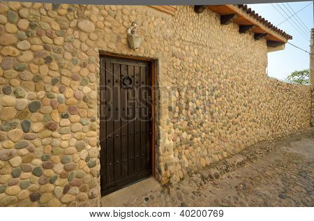 Entrance of a house in Puerto Vallarta, Mexico.