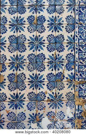 Azulejo - Old Tile Background
