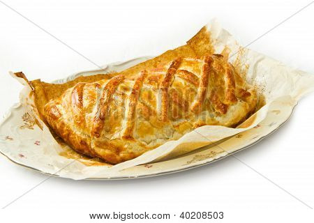Cheese Pie Baked With Puff Pastry
