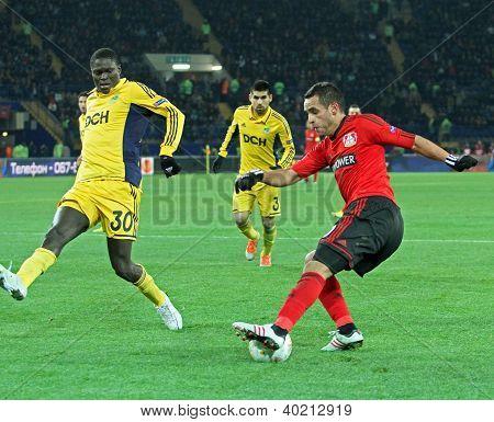 Metalist Kharkiv Vs Bayer Leverkusen Match