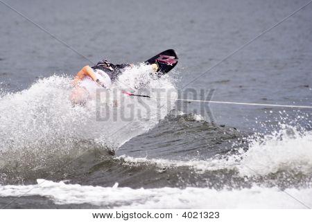 Water Ski In Action: Shortboard Tricks