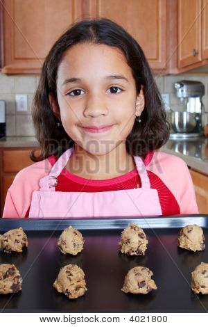 Girl With Cookies