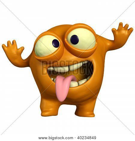 Crazy Orange Monster