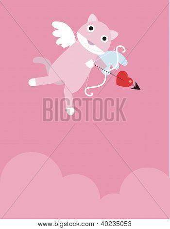 Pink Eros Cat