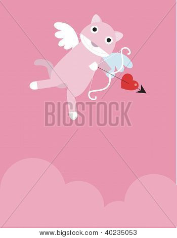 Eros rosa gato
