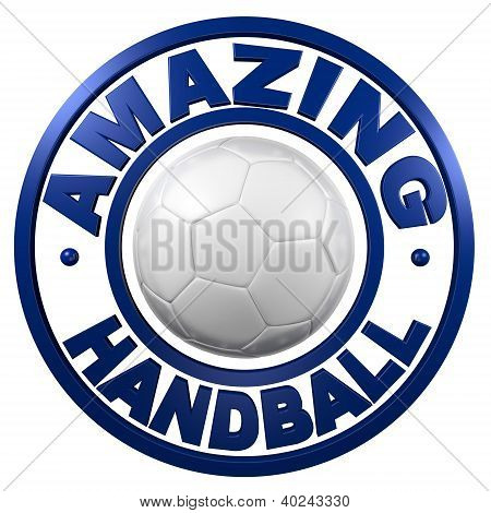 Amazing Handball Circular Design