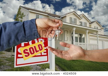 Handing Over The Keys To A New Home