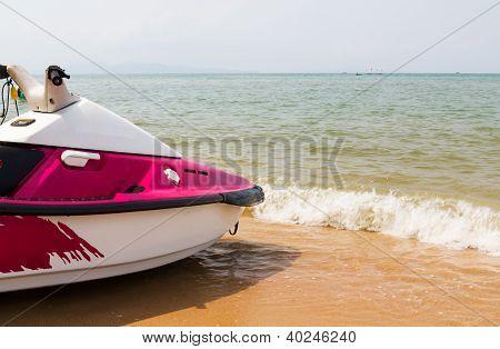 Pink  Jet Ski