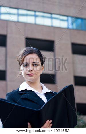 Confident Beautiful Businesswoman
