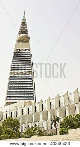 Al Faisaliah tower in Riyadh