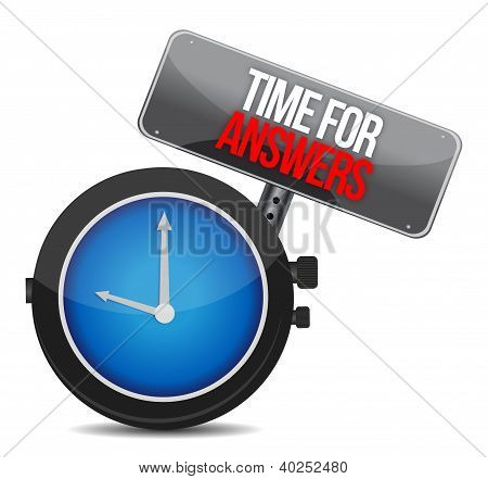 Answers Time Concept Clock