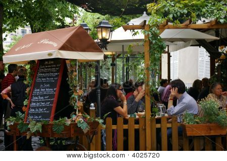 Montmarte Freiluftrestaurant