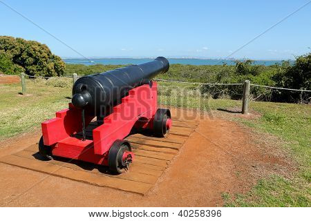 Old Red Cannon