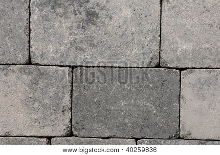 France, Flagstone For Paving In A Garden