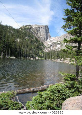 Hallett Peak In Estes Park Colorado