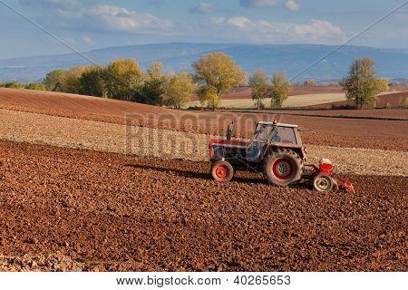 Landscape In La Rioja, Spain