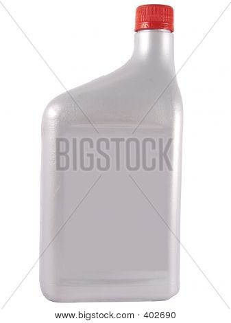 Silver Oil Bottle