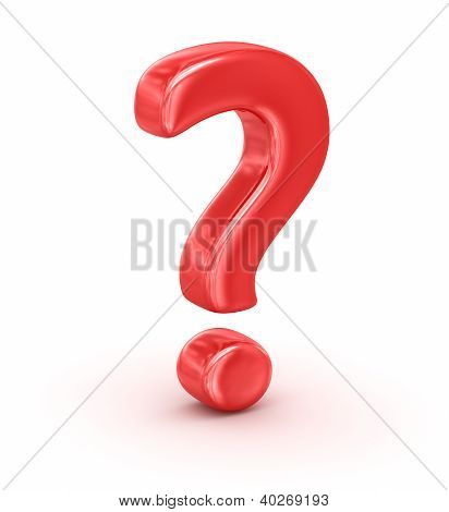 Red Question Mark