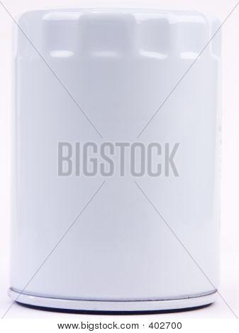White Oil Filter