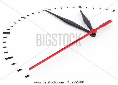 The Clock And Timestamp Without Numbers