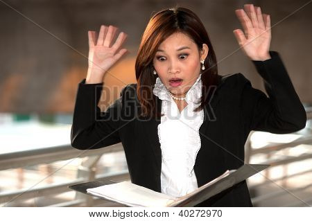 Exciting Pretty Asian Businesswoman 1.